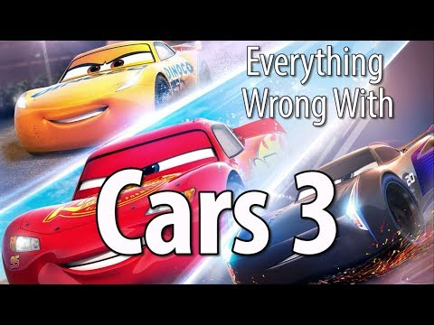 Everything Wrong With Cars 3 In 14 Minutes Or Less
