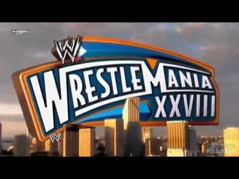 WWE - Wrestlemania 28 Theme Song ''Good Feeling'' (HD)