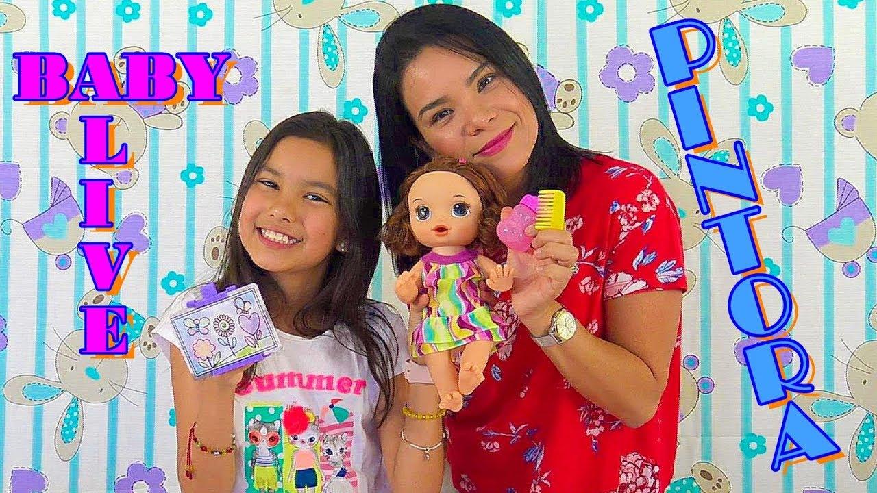 Baby Alive Pinta De Verdad Ana Nana Toys Youtube
