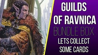 Guilds of Ravnica Bundle Box Opening - Time to Collect some Cards!
