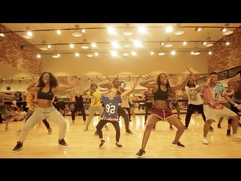 Sherrie Silver & Triplets Ghetto Kids - Marimba Rija Dance Class thumbnail