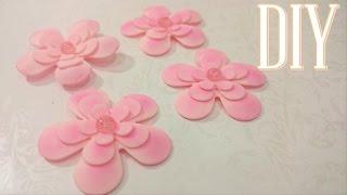 Dica de como fazer Flores perfeitas em biscuit