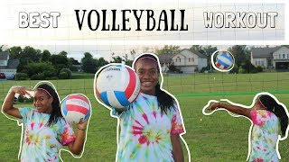 BEST VOLLEYBALL WORKOUT TO GET IN SHAPE!