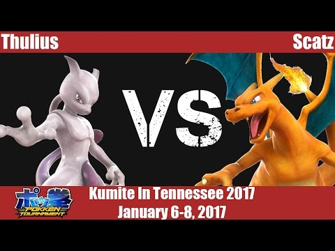KiT17 - Thulius (Mewtwo) vs Scatz (Charizard) - Pokken Tournament