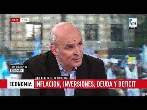 """José Luis Espert en """"De 18 a 21"""", de E.Feinmann - 20/06/17"""