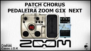 LM - #02 Patch Chorus - pedaleira Zoom G1X NEXT