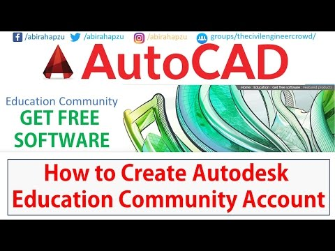 How to Create AutoDesk Education Community Account | For Civil Engineer | Bangla Part - 01