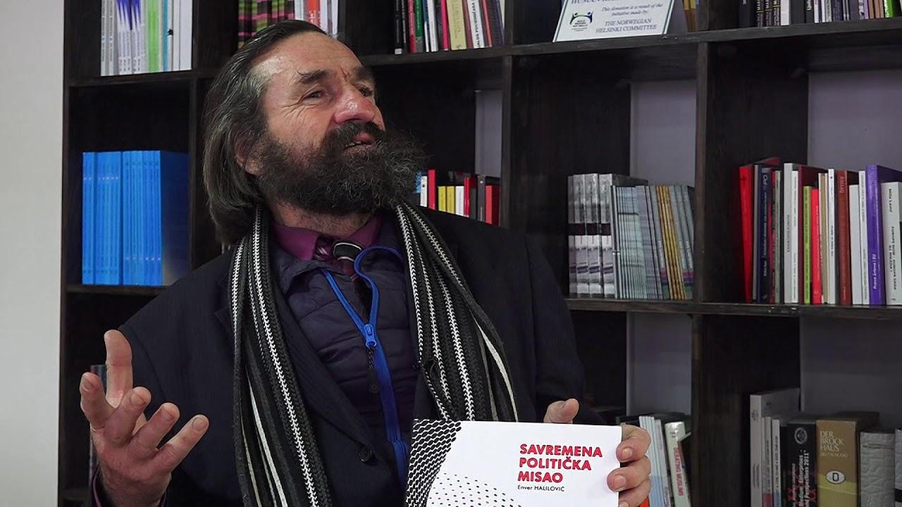 """Rezultat slika za """"Savremena politička misao"""" naziv je djela autora Envera Halilovića"""