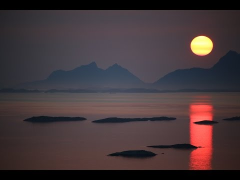 Midnight Sun Timelapse In Bodø, Norway