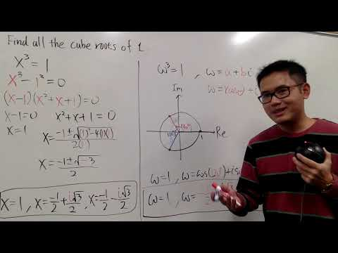 All The Cube Roots Of 1, (i.e. Cube Roots Of Unity)