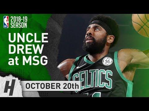 Kyrie Irving Full Highlights Celtics vs Knicks 2018.10.20 - 16 Pts, 5 Ast at MSG