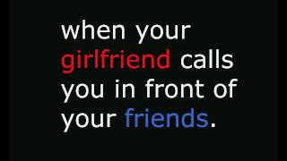 when your girlfriend calls you in front of your friends || BROTHERS OFFICIAL
