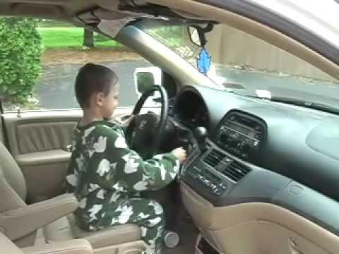 Kids Steal Van