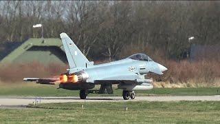 Frisian Flag arrival day | Luftwaffe | EF-2000 Typhoons | Leeuwarden AB