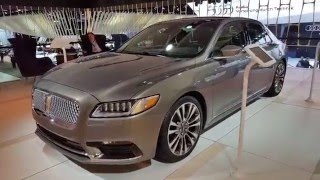 2017 Lincoln Continental Walkaround, Specifications, and Features