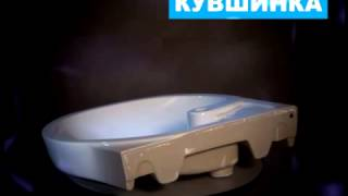 Раковина для стиральной машины Кувшинка Болеро(Раковина устанавливается со стиральной машиной глубиной до 46 см и шириной до 64 см., 2014-04-29T10:40:05.000Z)