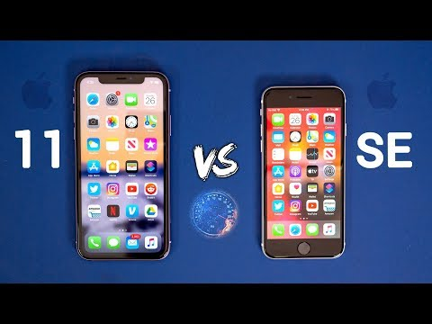 IPhone SE 2020 Vs IPhone 11 SPEED Test - Same Chip, Different Results!