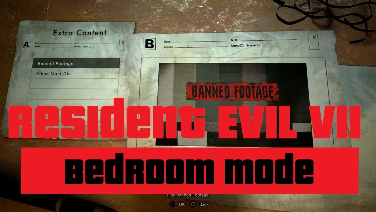 Resident Evil 7 Dlc Gameplay Nightmare Bedroom Ethan Must Die