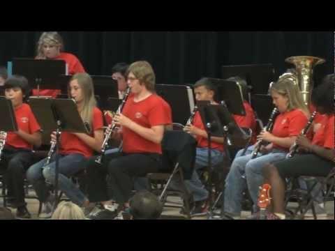 Los Coches Creek Middle School Band - Dark Adventure