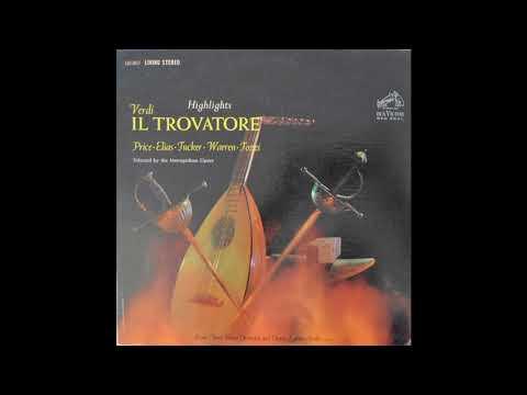 Verdi Il Trovatore Highlights Arturo Basile Rome Opera House Orchestra And Chorus