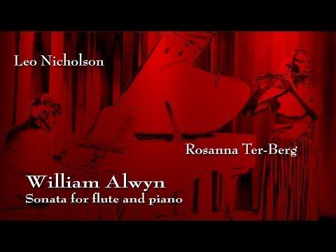 SONATA FOR FLUTE AND PIANO - WILLIAM ALWYN