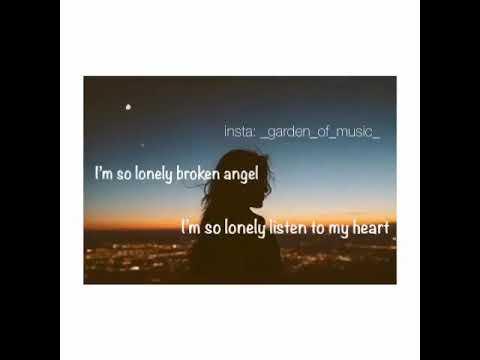 I'm so lonely broken angel💕💕