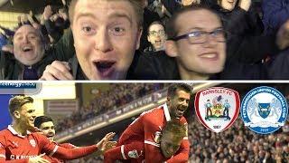 Barnsley 2 Peterborough United 0   Woodrow Masterclass!!!!   Matchday Vlog#29