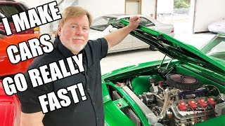 Hi YouTube 👋🏻 Tall Guy Car Reviews Sent Me.. WELCOME TO HI-TECH MOTORSPORT BABY!!