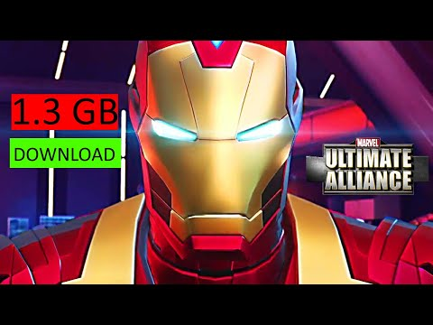 Marvel Avengers Ultimate Alliance Android Game - Avengers New Android Game - Avengers Mobile Game