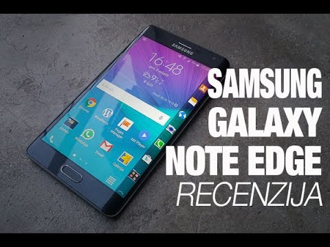 Samsung Galaxy Note Edge Recenzija