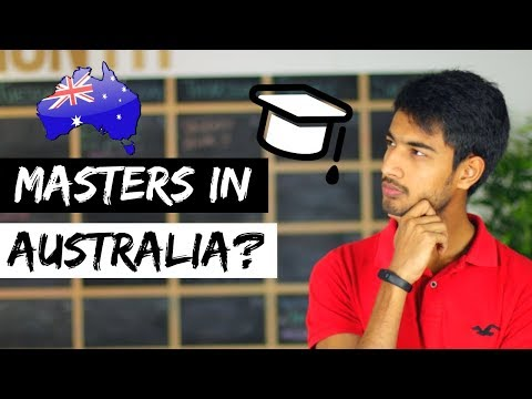 MASTERS IN AUSTRALIA   INTERNASH   Study In Australia