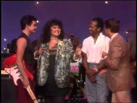 Dick Clark Interviews Romeo Void- American Bandstand 1984