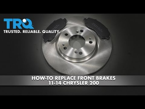 How to Replace Front Brakes 11-14 Chrysler 200
