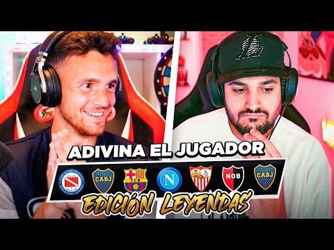 ADIVINA EL JUGADOR POR SU TRAYECTORIA (EDICIÓN LEYENDAS)!! ft VITUBER