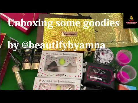 Unboxing Some Goodies By @beautifybyamna In Sherry's Tarka