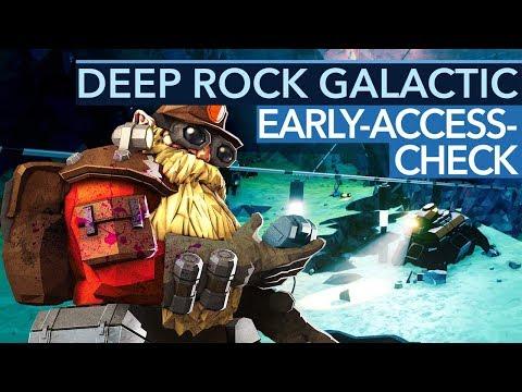 Deep Rock Galactic ist richtig cool... bis die Zwerge fies werden (REUPLOAD)