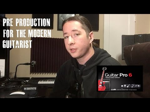 The Writing Phase | Guitar Pro 6 For Song Writing