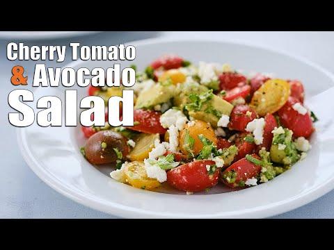 Cherry Tomato and Avocado Salad | Super Simple Salad Recipe