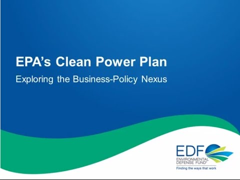 Exploring the Business-Policy Nexus: EPA's Clean Power Plan
