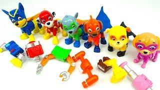Распаковываем игрушку Щенячий Патруль герои мультика