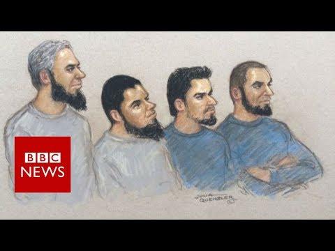 'Three Musketeers' guilty of planning UK terror plot - BBC News
