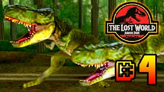 Mother F***** T.Rex! || The Lost World Jurassic Park (PS1) Ep 4 [ Jurassic Park Month ]