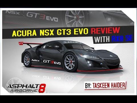 Acura NSX GT3 Evo - Review | Asphalt 8