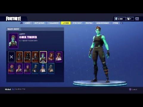 Selling My Fortnite Account Ghoul Trooper Rarest Skin In Game