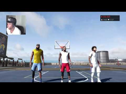 NBA 2K16 My PARK LiveStream - CHASING LEGEND 1