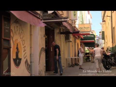 La vie à  Ajaccio , Corse