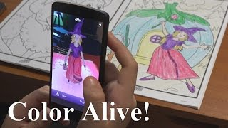 Color Alive Review Coloring Book Come To Life