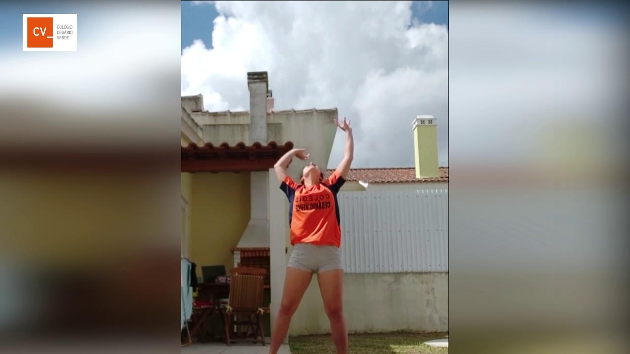 """Voleibol no """"Colégio"""" :)"""