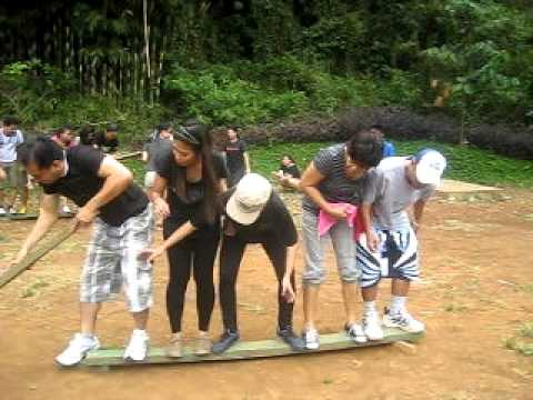 Crossing The Lava River Team Building Activity