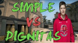CSGO: POV Flipsid3 simple vs Dignitas (39/26) mirage @ DreamHack Tours 2015